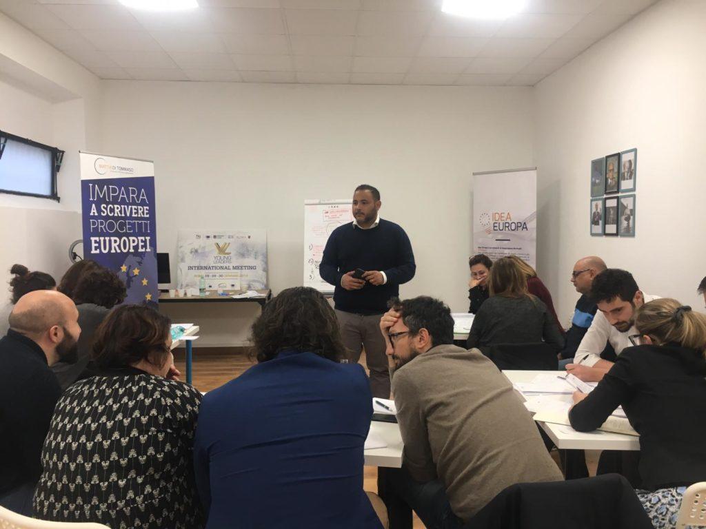 europrogettazione corso in aula mattia di tommaso