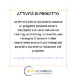 Il glossario dell'europrogettista: Attività di progetto