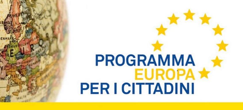 Gemellaggio di città : Programma Europe for citizens 1 scadenza 2020