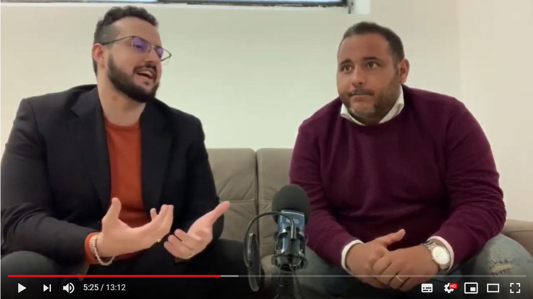 Luca Bellino si racconta insieme a Mattia Di Tommaso. Lavorare con i fondi europei