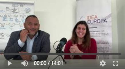 La comunicazione dei progetti europei. Video di Sara Fiori con Mattia Di Tommaso