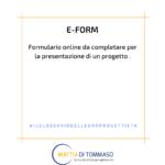 Il glossario dell'europrogettista: E-FORM