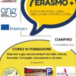 "Racconta un progetto: Erasmo+ ""Empower rural areas seed more opportunities"