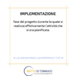 Il glossario dell'europrogettista: Implementazione