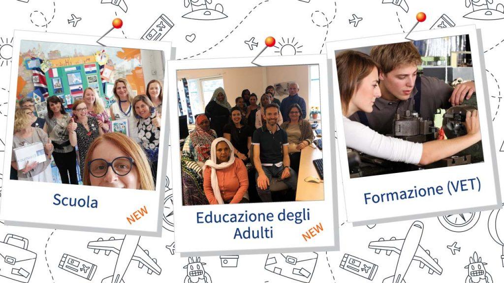 Verso Erasmus 2021-2027. L'Invito a richiedere l'accreditamento per Scuola, Educazione Adulti e Formazione VET