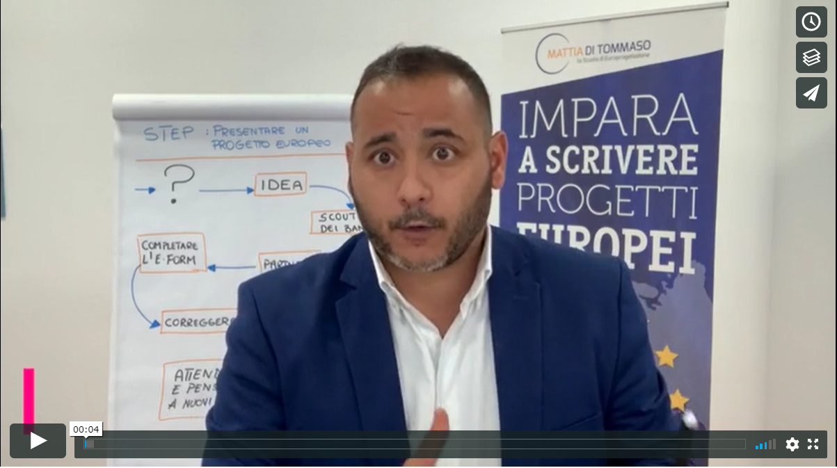 [VIDEO]: L'abstract di un progetto europeo