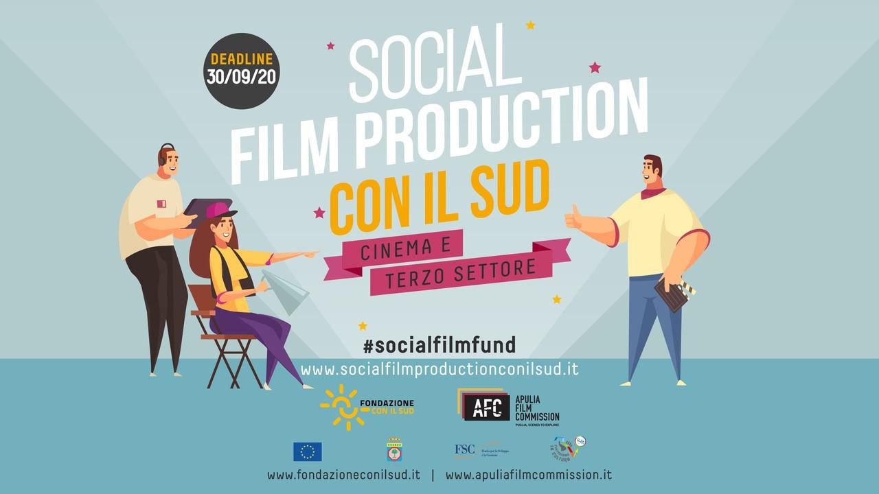 """Bando """"Social Film Production con il sud"""""""